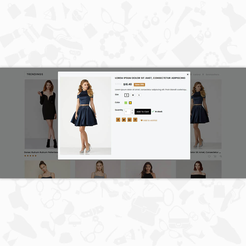 gStar - The Fashion Store Template