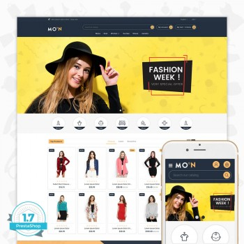 Fashion Moon PrestaShop Theme