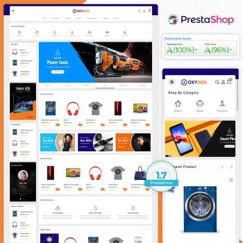 Oxyzen - The MultiStore PrestaShop Theme