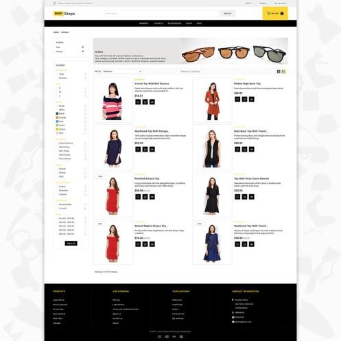 Wow Step - The Fashion PrestaShop Theme