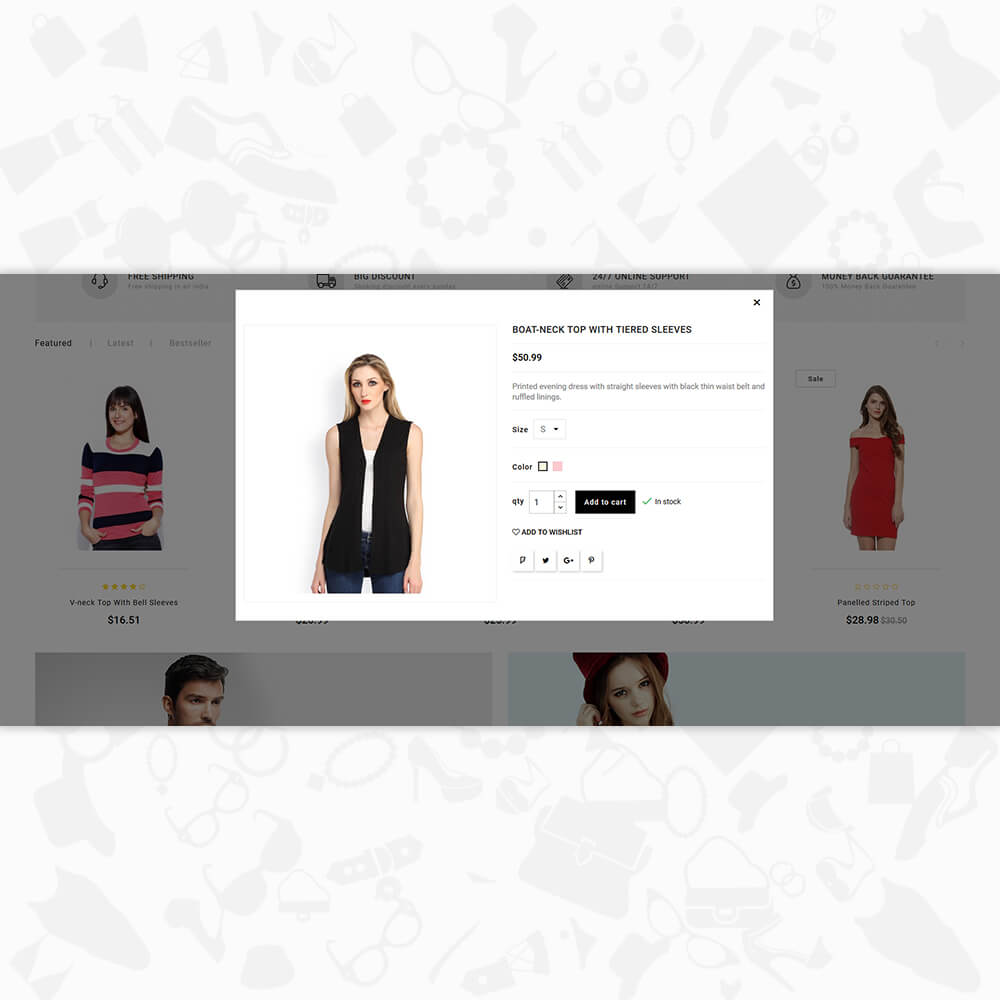 Wow Step - The Fashion Store Template