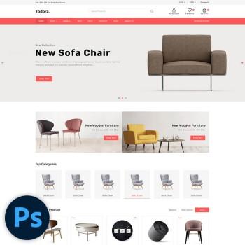 Todora Furniture PSD Template