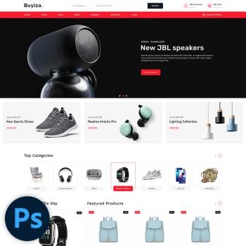 Buyiza Multistore PSD Template