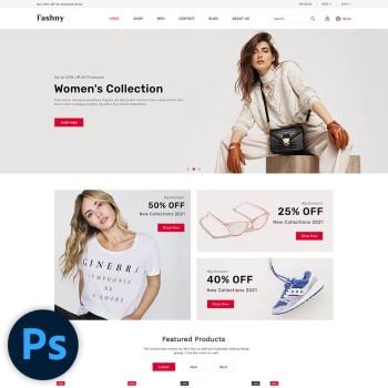 Fashny Fashion PSD Template