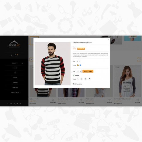 Creative Art - The Fashion PrestaShop Theme