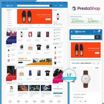 Shoplink - The MultiStore PrestaShop Theme