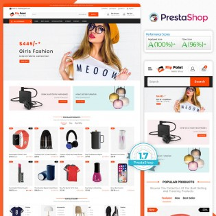 Flippoint - The MultiStore PrestaShop Theme
