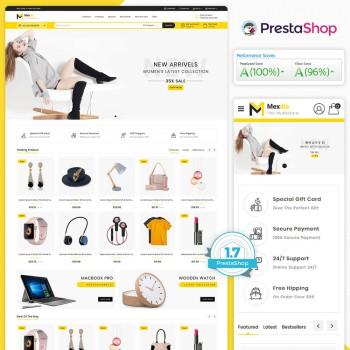 Mexdia - The MultiStore PrestaShop Theme