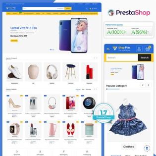 Shopplex - The MultiStore PrestaShop Theme