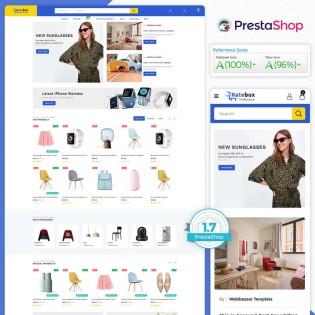 Ratebux - The MultiStore PrestaShop Theme