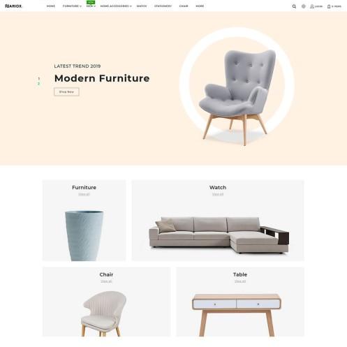 Nariox - The Furniture PrestaShop Theme