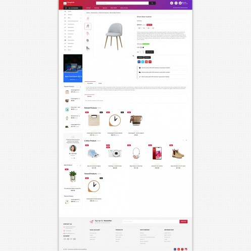 Shoplish - The MultiStore PrestaShop Theme