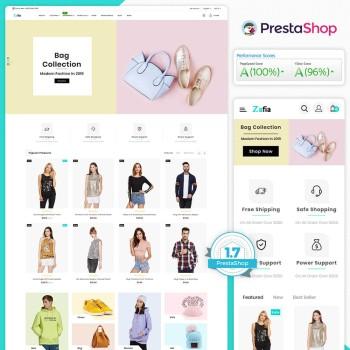 Zafia - The Fashion PrestaShop Theme