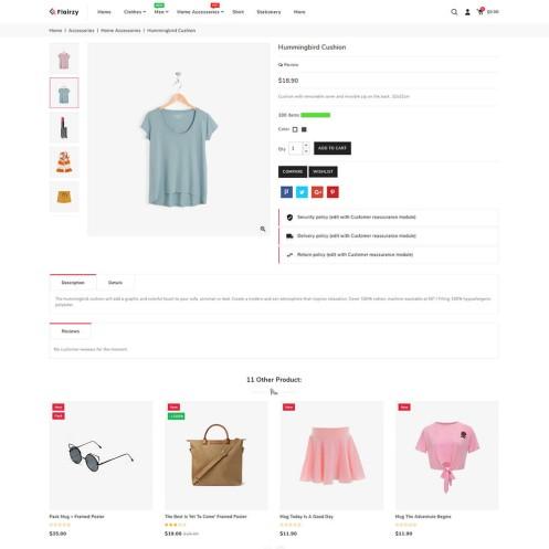 Flairzy - The Fashion PrestaShop Theme