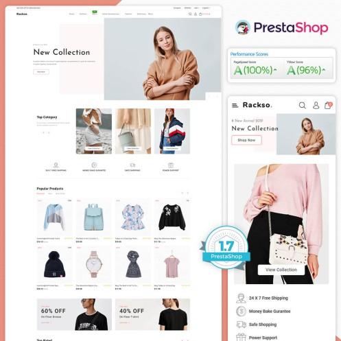 Rackso - The Fashion PrestaShop Theme