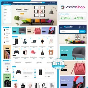 Techfork - The MultiStore PrestaShop Theme