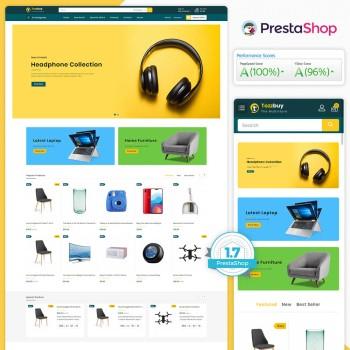 Tozzbuy - The MultiStore PrestaShop Theme
