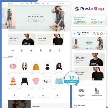 Vimiki - The Fashion PrestaShop Theme