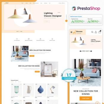Brevox - The Furniture PrestaShop Theme