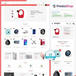 Aiqor - The MultiStore PrestaShop Theme