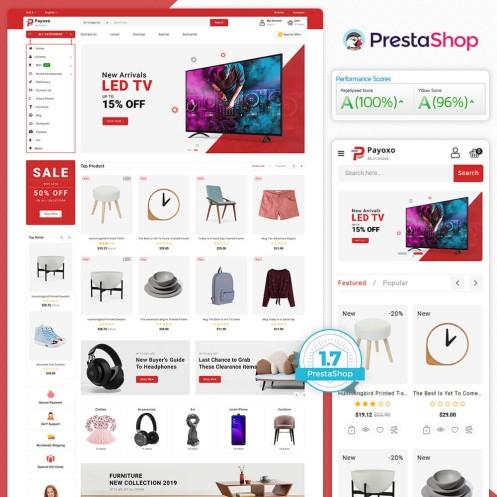 Payoxo - The MultiStore PrestaShop Theme