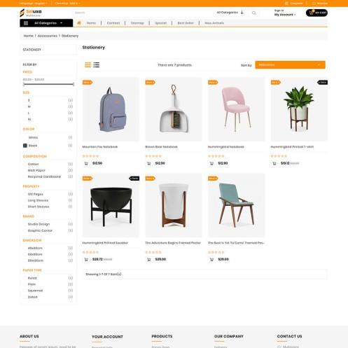Seluxa - The Furniture PrestaShop Theme