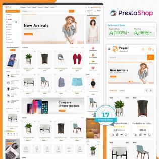 Payaxi - The MultiStore PrestaShop Theme