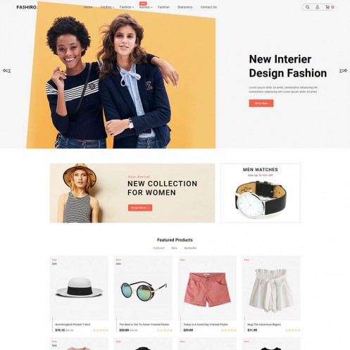 Fashiro - The Fashion PrestaShop Theme