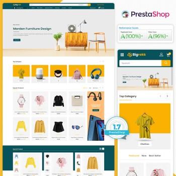 Bigrekk - The MultiStore PrestaShop Theme