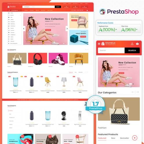 Storelux - The MultiStore PrestaShop Theme