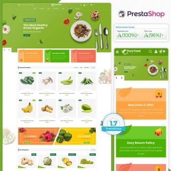 Purefood The Best PrestaShop Theme
