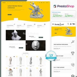 Sculpart - The Marble Art PrestaShop Theme