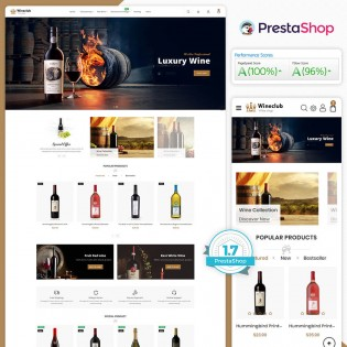 Wineclub The Best PrestaShop Theme
