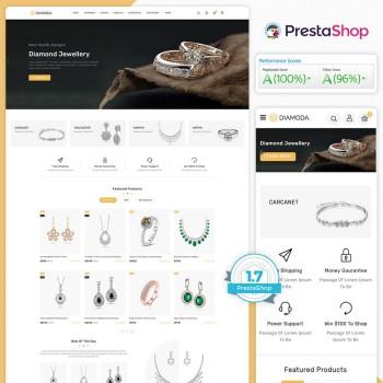 Diamoda - Royal Jewellery PrestaShop Theme