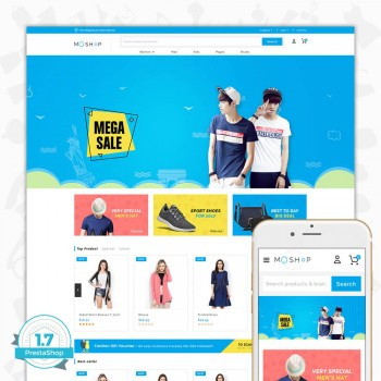 MOShop - The fashion Premium PrestaShop Theme