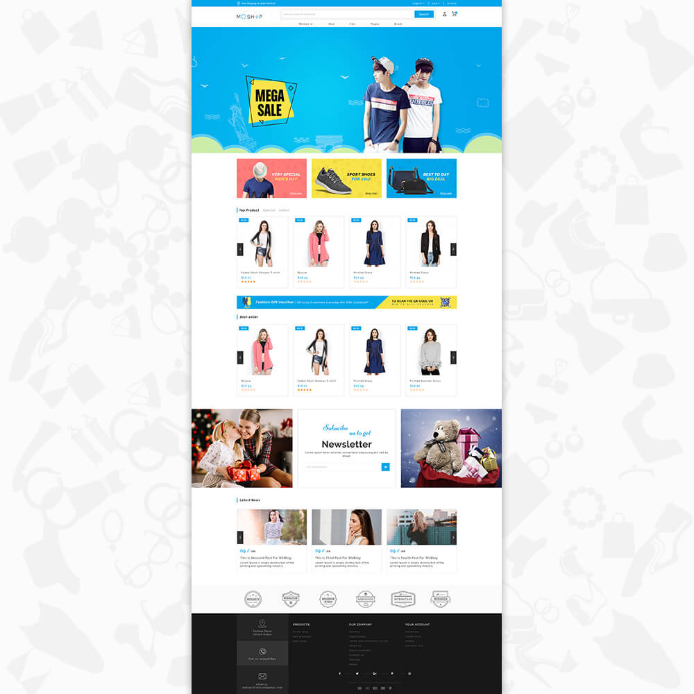 MOShop - The Fashion Store Template