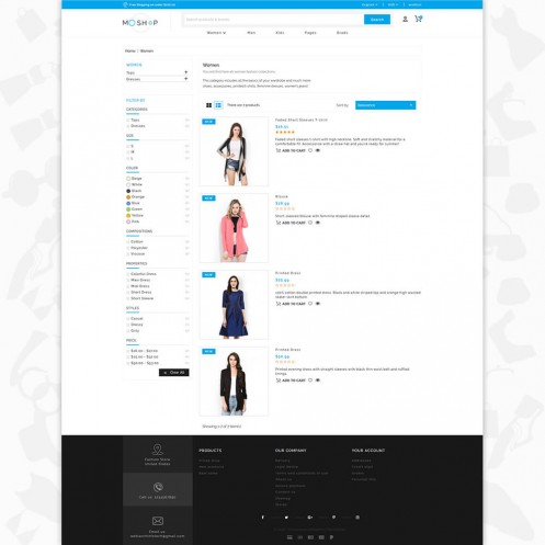 MOShop - The fashion Premium PrestaShop Theme
