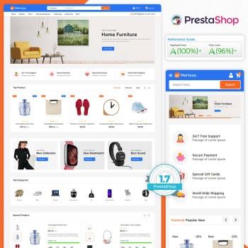 Martuza - The MultiStore PrestaShop Theme