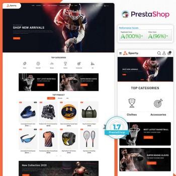 Sporty - The Best PrestaShop Theme