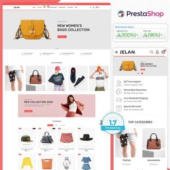 Jelan - The Fashion PrestaShop Theme