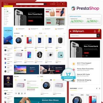 Shopicart - The MultiStore PrestaShop Theme