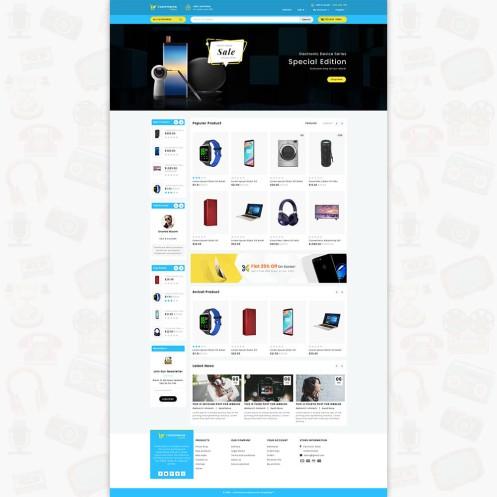 Ecommerce-Today- Electronics PrestaShop Theme