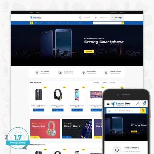 SmartElec - Electronic Device Template