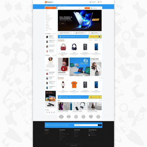 Shopping Mall - The Mega Mall PrestaShop Theme
