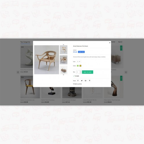 Shopping Center - The Furniture PrestaShop Theme
