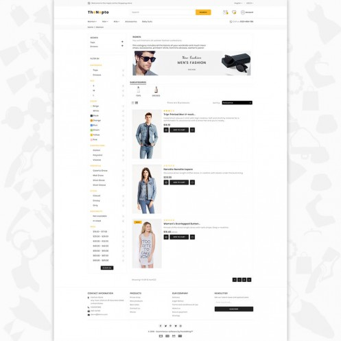 The Nepto - The Fashion PrestaShop Theme