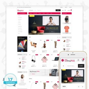 Shoppick - The Online Shop PrestaShop Theme