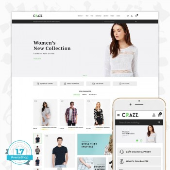 Craze - The Fashion PrestaShop Theme