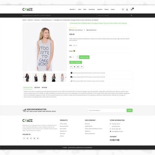 Craze - The Fashion PrestaShop Theme