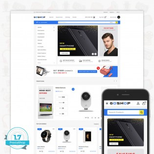 GoShop - Free Electronics PrestaShop Theme